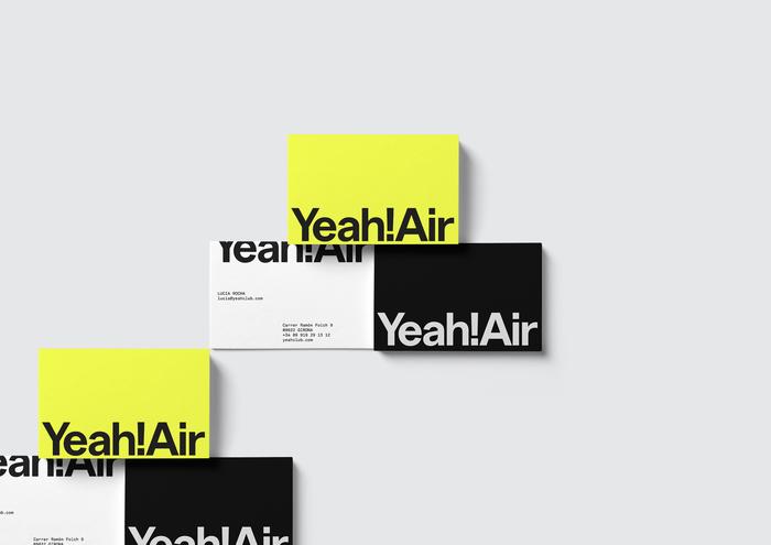 Yeah! Air visual identity 3