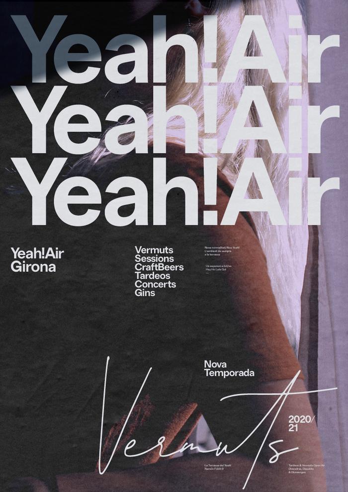 Yeah! Air visual identity 1