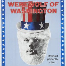 <cite>The Werewolf of Washington</cite> movie poster