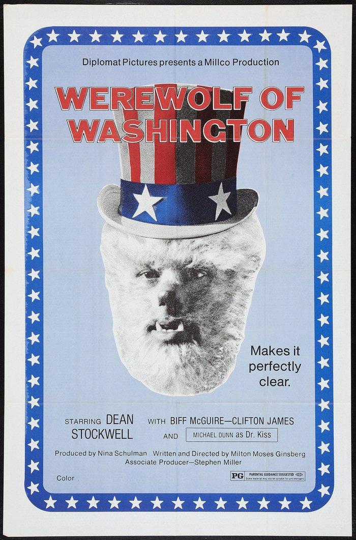 The Werewolf of Washington movie poster