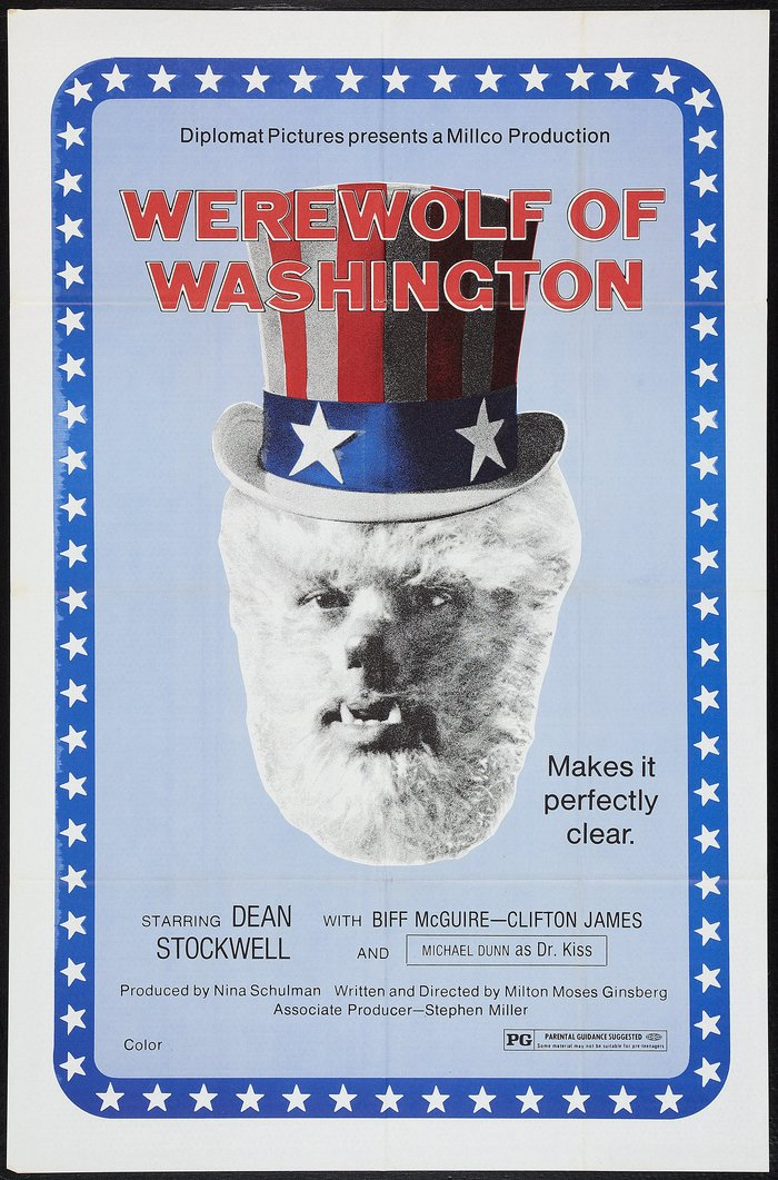 The Werewolf of Washington movie poster