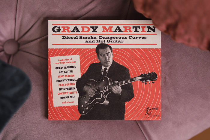 Grady Martin – Diesel Smoke, Dangerous Curves and Hot Guitar album art 1