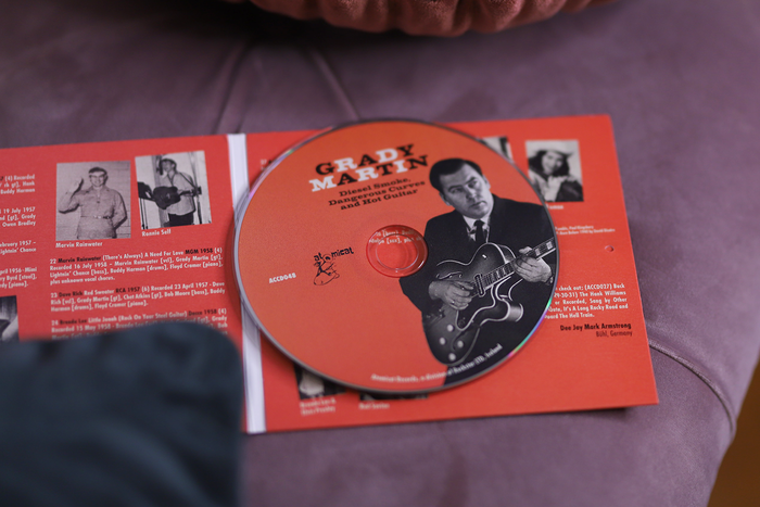 Grady Martin – Diesel Smoke, Dangerous Curves and Hot Guitar album art 3