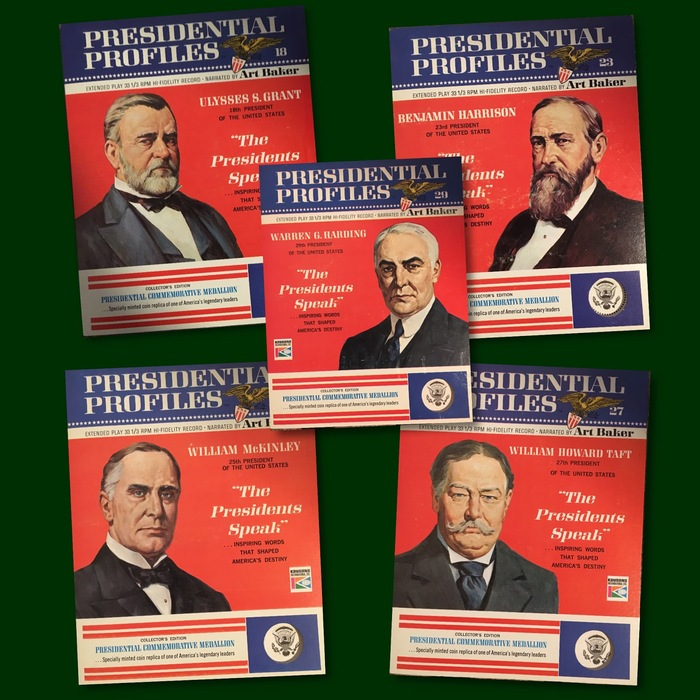 "Presidential Profiles: ""The Presidents Speak"" record series 5"