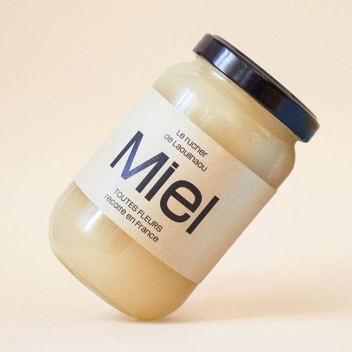 Le rucher de Laouilhaou honey labels 3