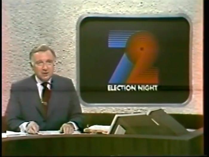 Walter Cronkite live on CBS News, November 7, 1972.