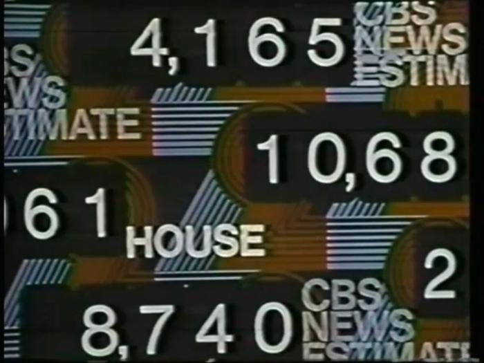 1972 U.S. election, CBS News 8