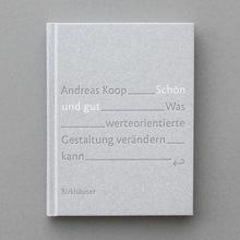 <cite>Schön und gut</cite> by Andreas Koop