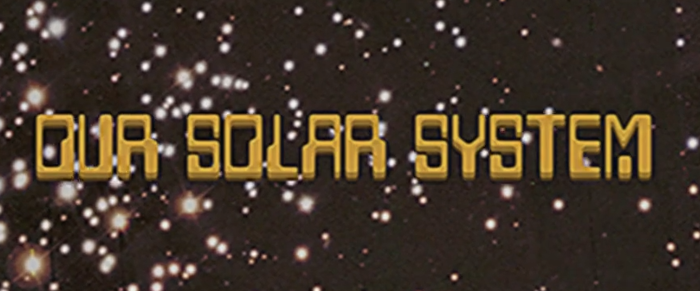 The Computer font is used on the title card and the rest of the video.