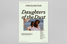 <cite>Daughters of the Dust</cite> (1991) movie poster for NonStop Entertainment