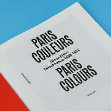 <cite>Paris Couleurs. Gérard Ifert, Ektachromes 1953–1954</cite>