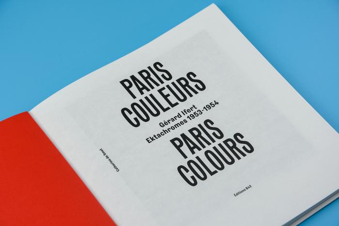 Paris Couleurs. Gérard Ifert, Ektachromes 1953–1954 1