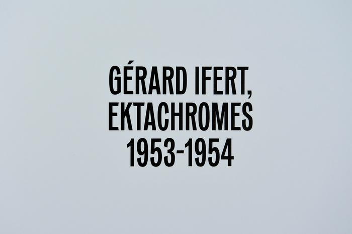 Paris Couleurs. Gérard Ifert, Ektachromes 1953–1954 4