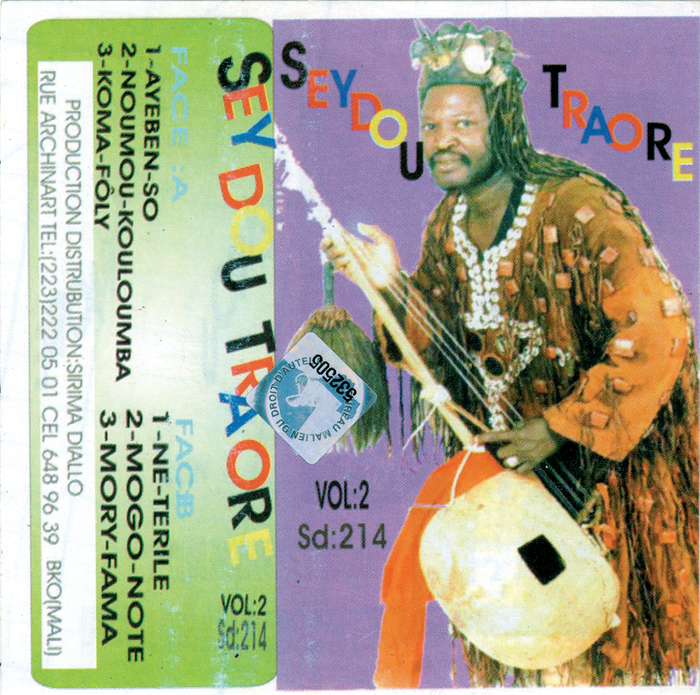 Toba Seydou Traoré – Vol:2 cassette