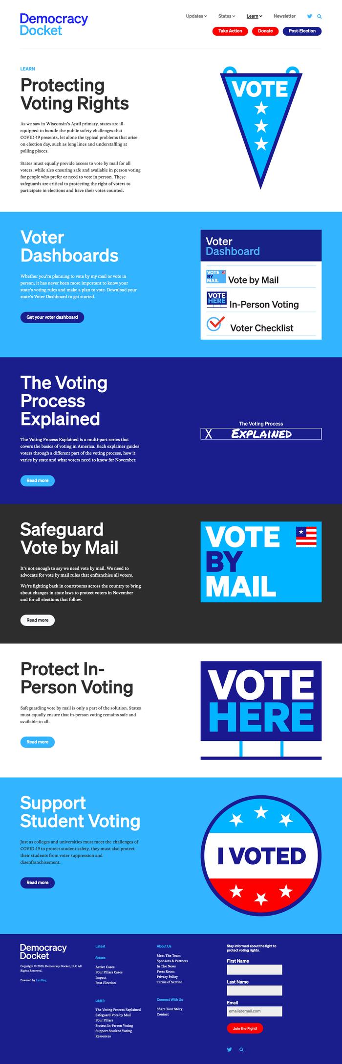 Democracy Docket website 7