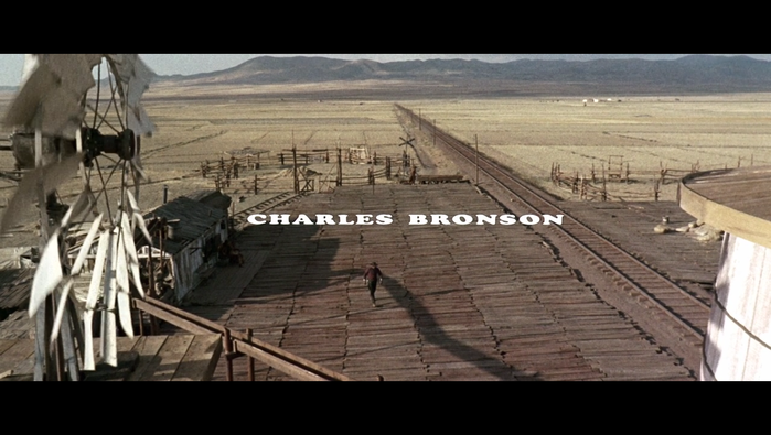 Once Upon A Time In The West (1968) opening credits 2