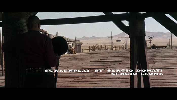 Once Upon A Time In The West (1968) opening credits 5