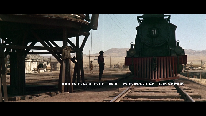 Once Upon A Time In The West (1968) opening credits 7