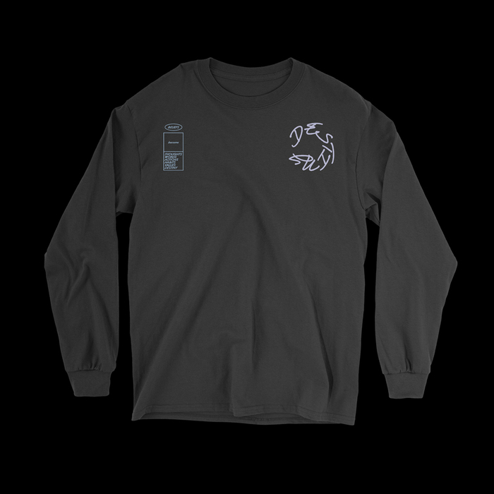 """""""Thoughts And Destiny"""" longsleeve 2"""