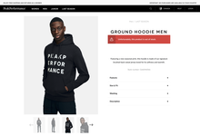 Peak Performance website and clothes