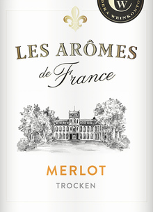 Les Arômes de France wines by Edeka