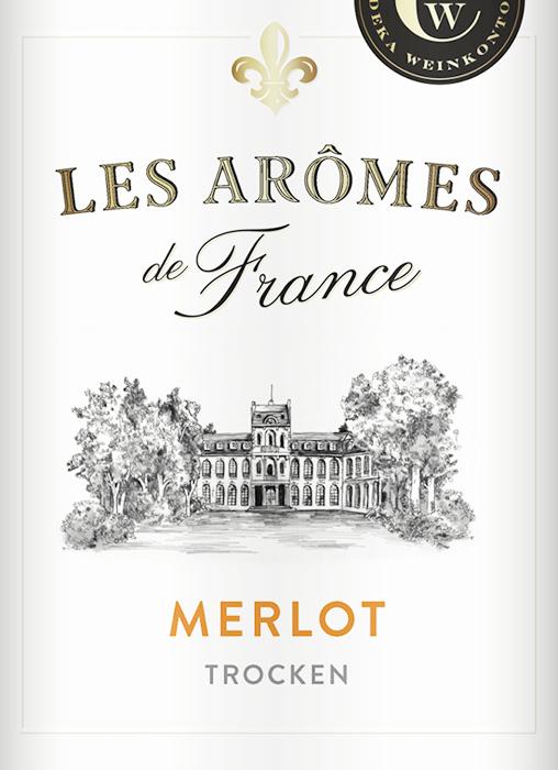 Les Arômes de France wines by Edeka 1