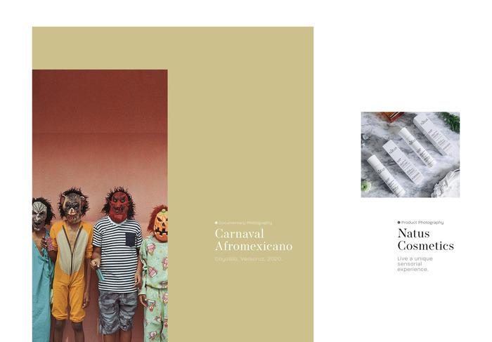 Leo Manjarrez portfolio website 2