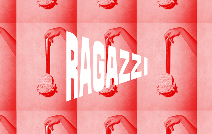 Ragazzi restaurant identity 1