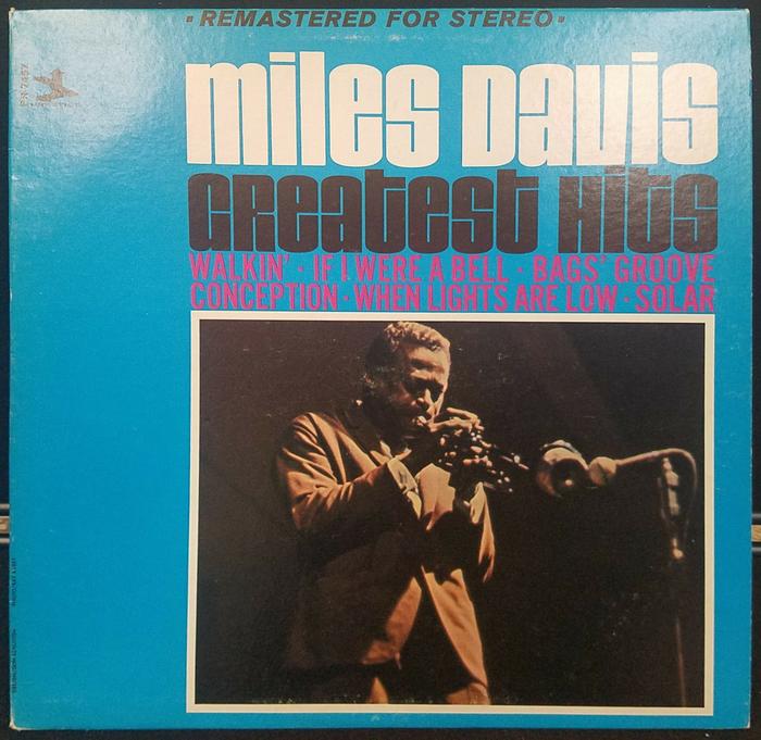 Miles Davis – Greatest Hits (Prestige) album art 1