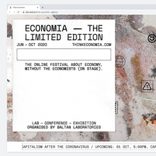 Think Economia festival website