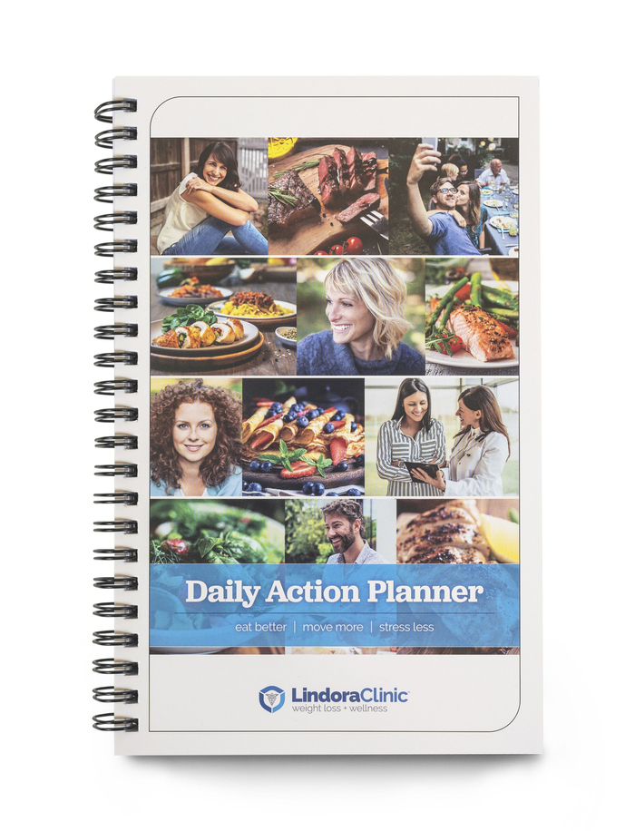 Daily Action Planner with the title set in Jubilat Bold.