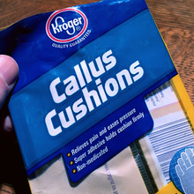 Kroger Callus Cushions packaging