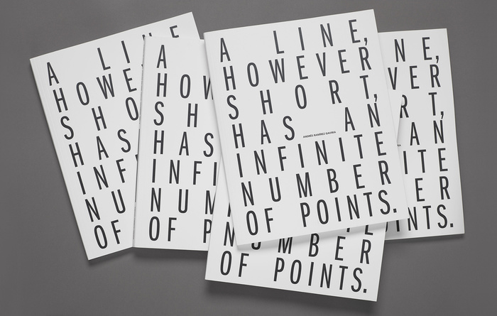 A line however short has an infinite number of points 4