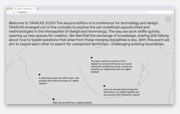 TAAALKS 2020 website 3