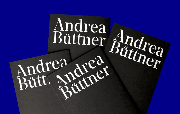 Andrea Büttner exhibition catalogue 1
