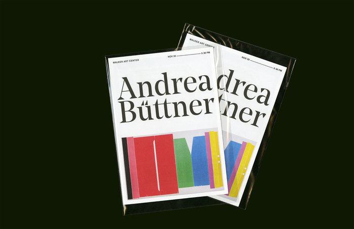 Andrea Büttner exhibition catalogue 6