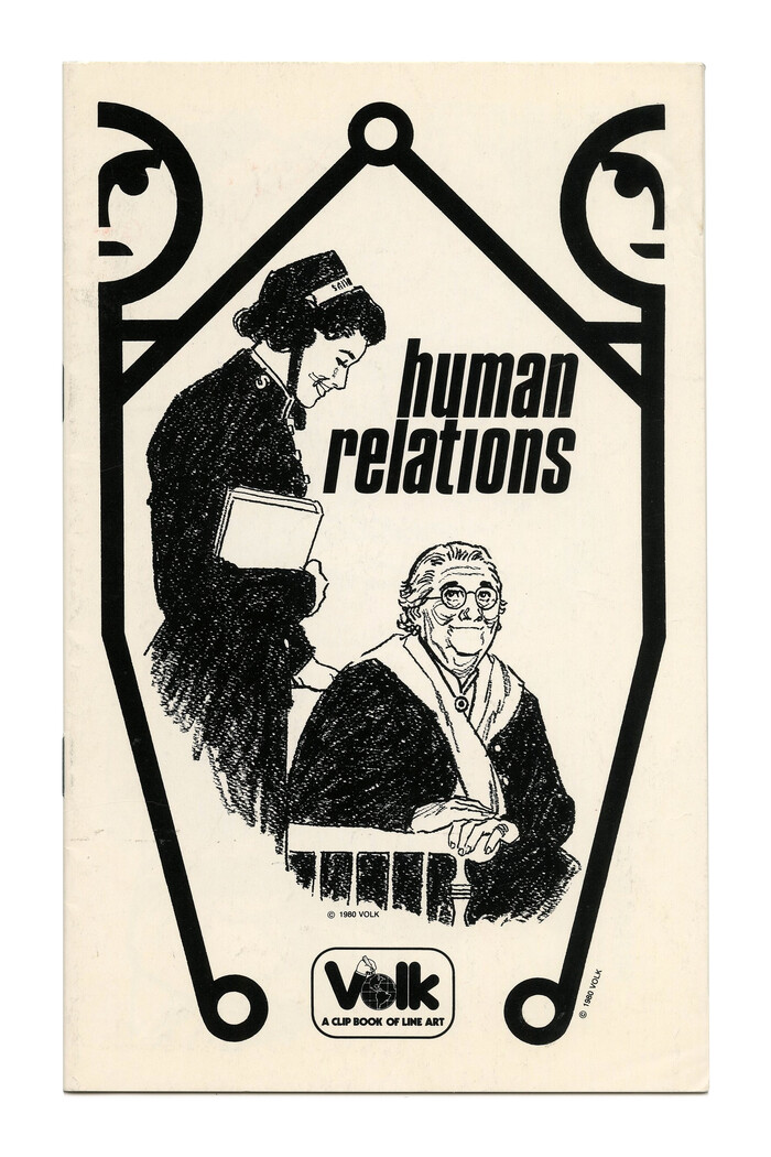"""Human Relations"" (No. 767), again with oblique  in all lowercase and no i dot."