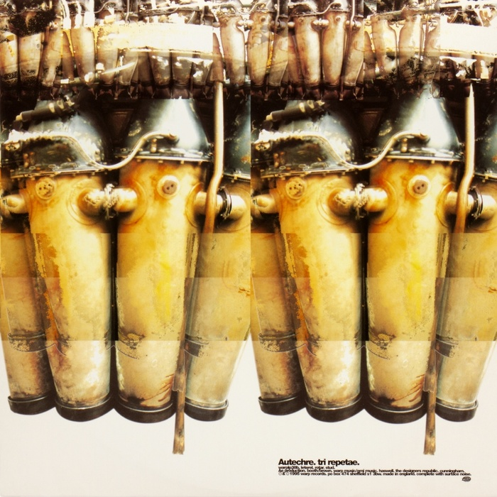 Autechre – Tri Repetae album art 3