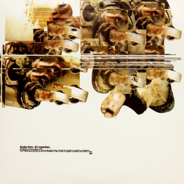Autechre – Tri Repetae album art 4