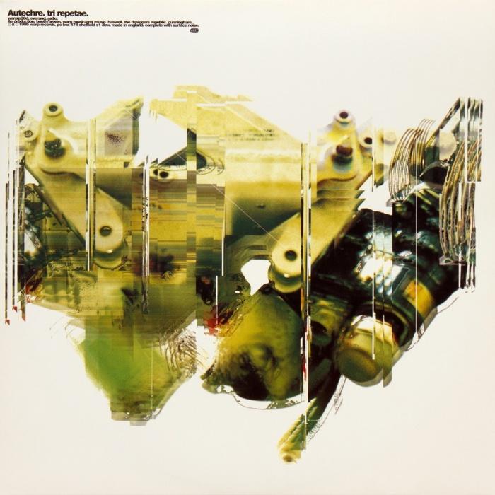 Autechre – Tri Repetae album art 5