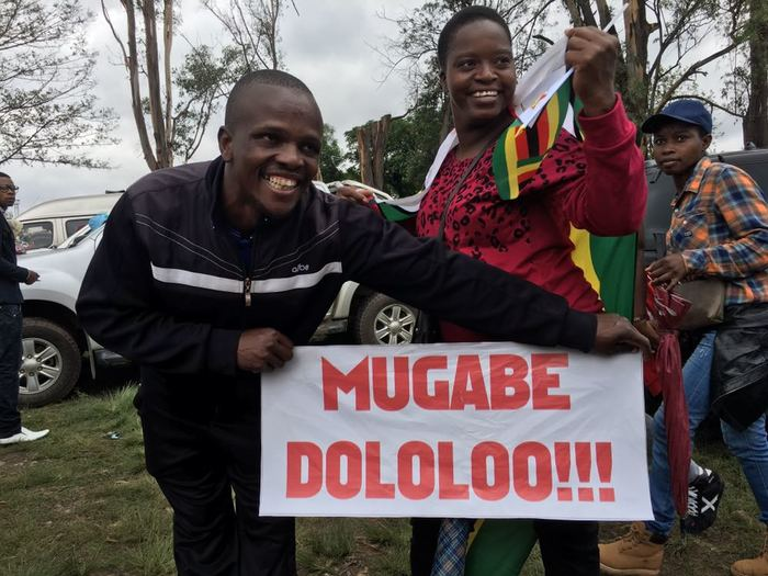 Anti-Mugabe protest signs 5