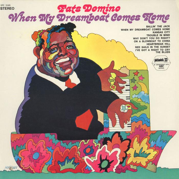 Fats Domino – When My Dreamboat Comes Home album art 1