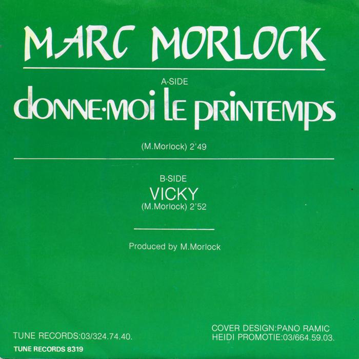 """Marc Morlock – """"Donne-moi le printemps"""" 2"""
