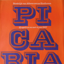 Picabia exhibition at Van Abbemuseum