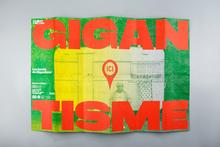 <cite>Les lundis de Gigantisme</cite> leaflet