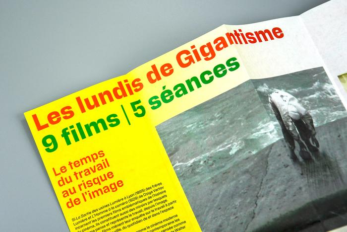 Les lundis de Gigantisme leaflet 5