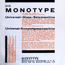 "Monotype advertisement in <cite>Offset</cite><span class=""nbsp"">&nbsp;</span>7 (1926)"