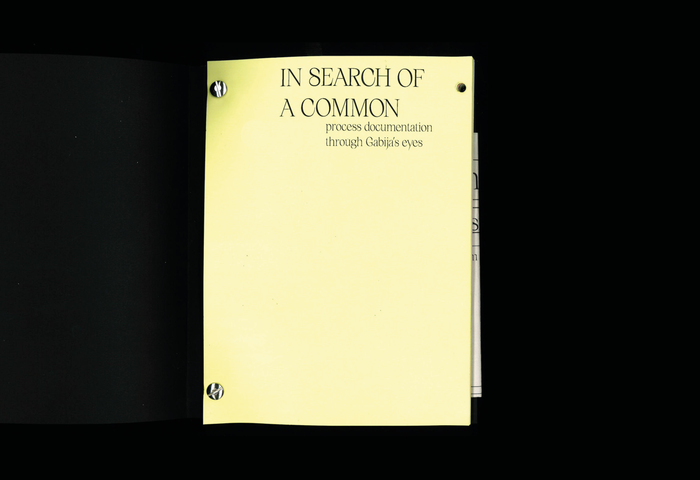 In Search of a Common booklet 2