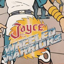 <cite>Jayce and the Wheeled Warriors</cite> (1985) logo