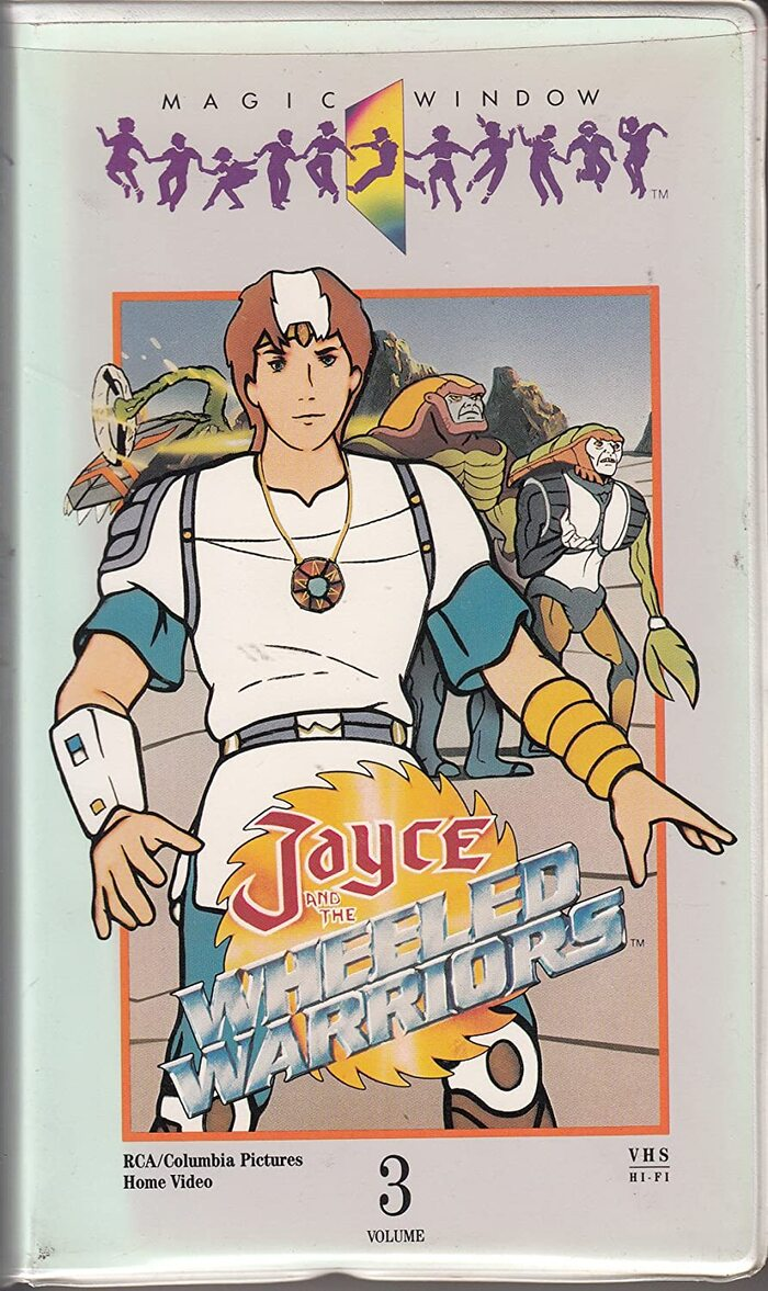 VHS cassette release of one of the episodes, released by RCA/Columbia.